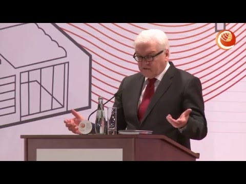 Dr. Frank-Walter Steinmeier - Federal Foreign Minister, Germany at #betd2016