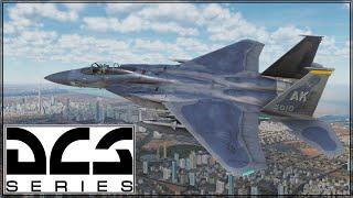 DCS - Caucasus - F-15 - Live Stream - Guns Guns Guns