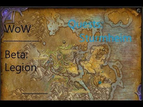 iZocke WoW Beta: Legion Quests in Sturmheim #100 - GESUCHT: Than Irglov (Weltquest)