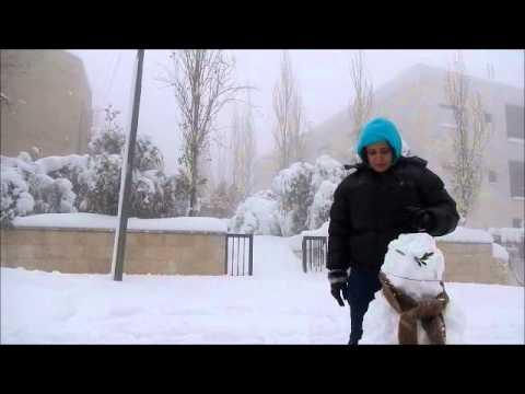 Best Winter 2013 ....SNOW.... Amman Jordan