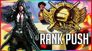 PUBG MOBILE 0.9.0 HYPE // RANK PUSH ACE TO CONQUEROR // #pubgmobile #live