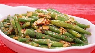 Green Bean Almondine Recipe: Easy Green Bean Side Dish: Recipe By Diane Kometa: Dishin With Di #115