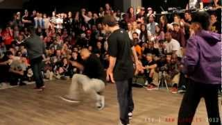 Momentum Crew vs Knuckleheads Cali   RAW CIRCLES 2012   1/4 Finals