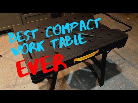 Tool Review: Dewalt Folding Workbench Table