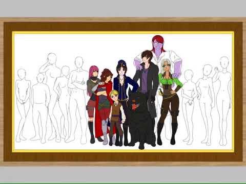 Scarlet Kaida Crew [Speedpaint]