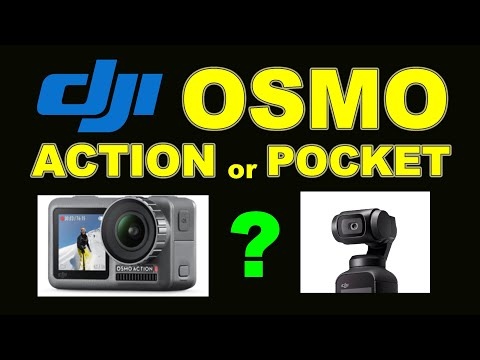 DJI OSMO Action Or OSMO Pocket Camera - Which One Should You Buy?