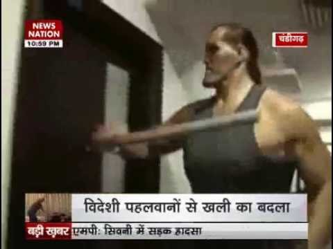 Khali takes revenge after wrestlers ransack his academy in Jalandhar