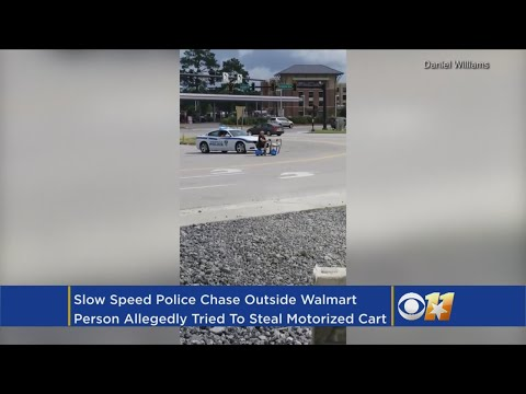 Fast Freddie - Police Arrest Woman On Walmart Scooter Headed To Waffle House