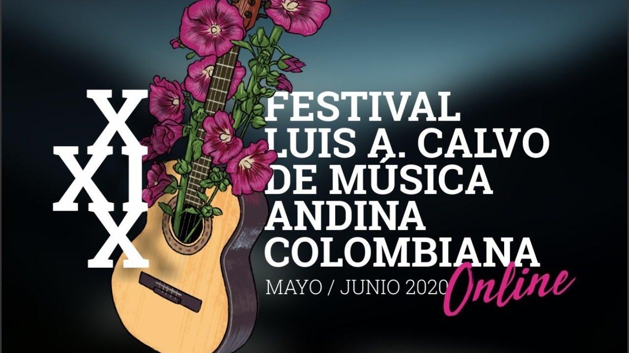Festival Luis A Calvo De Música Andina Colombiana Youtube