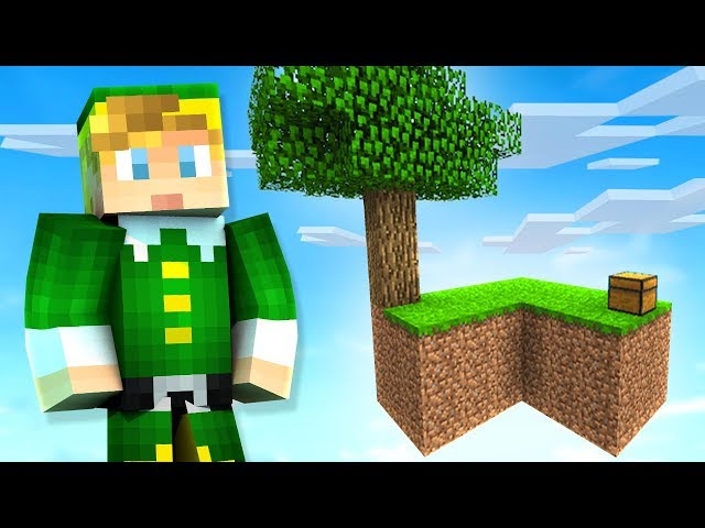 Minecraft Skyblock Island mit Lachlan + video