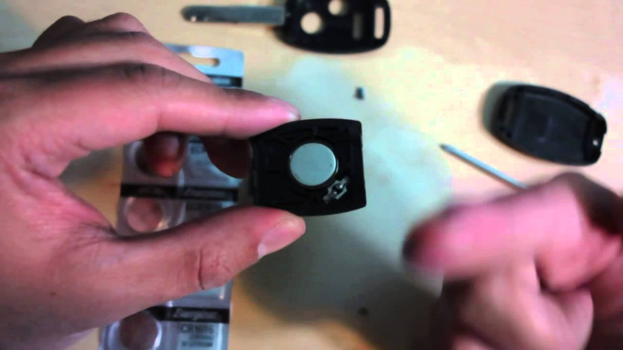 How To Change Your 2010 Honda Civic Or Accord Car Key Battery