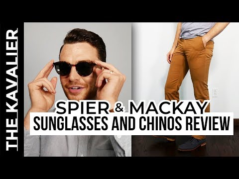 Spier & Mackay - Chinos and Sunglasses Review