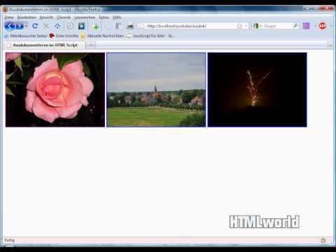 HTML Tutorial: Ausdokumentieren Im HTML Script |  Deutsch
