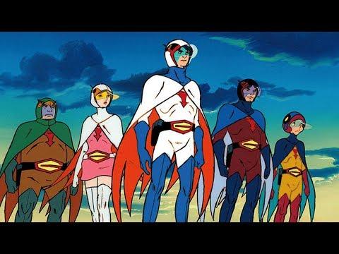 Gatchaman - Best Superhero Anime