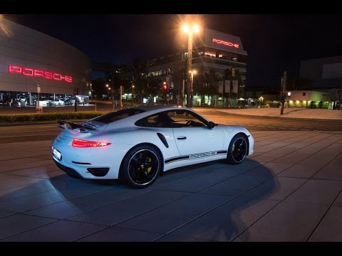 white porsche 911 turbo in dubai 2015 - 911 Porsche 2015 White