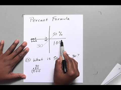 Percent Formula