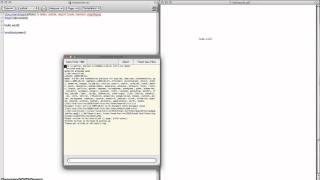 LaTeX Tutorial 1: 'helloworld' LaTeX example