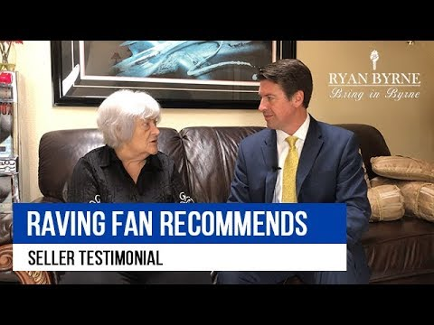 Raving Fan Seller Recommends Ryan Byrne to Everybody!
