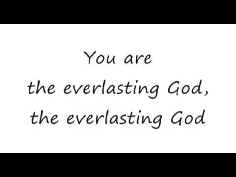 Everlasting God Lincoln Brewster 16x9 lyrics