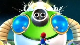 super mario galaxy 2   100 walkthrough part 10   bowser jrs fearsome fleet mighty megahammer