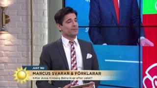 Räcker Moderaternas magplask hela vägen till Rosenbad? - Nyhetsmorgon (TV4)