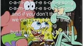 Spongebob Squarepants The Camp Fire Song (with lyrics)