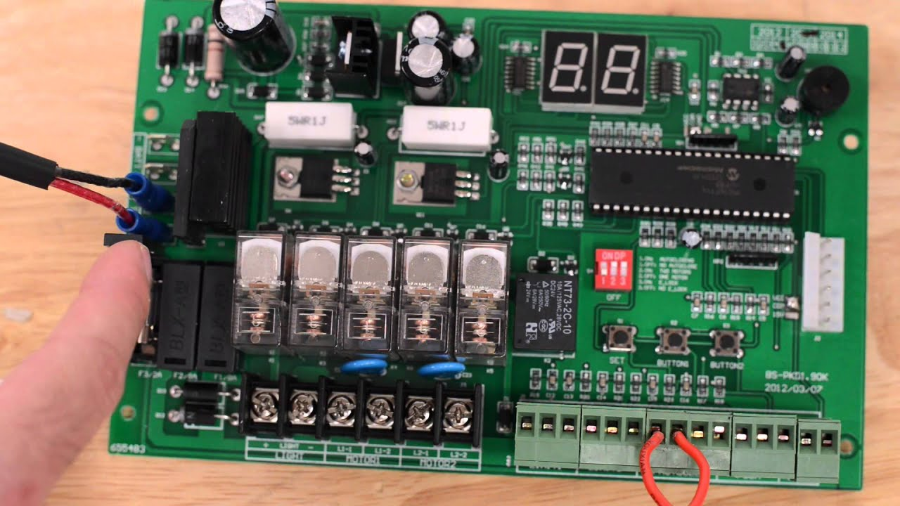 E S300 Receiver And Fuses