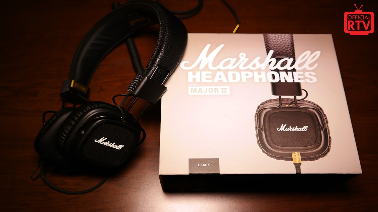 marshall major ii headphones the awesomer. Black Bedroom Furniture Sets. Home Design Ideas
