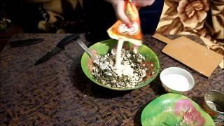 Салат из морской капусты/ Очень вкусный и очень легкий салат