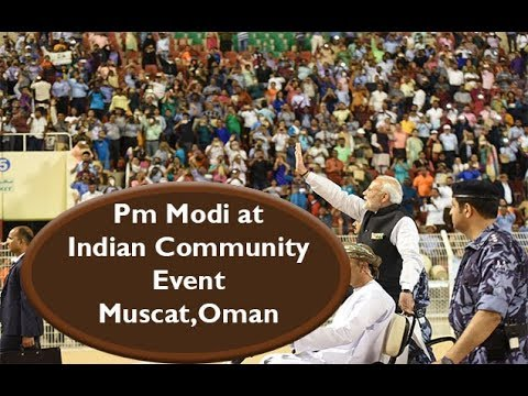 PM Modi at Indian Community Event in Muscat, Oman