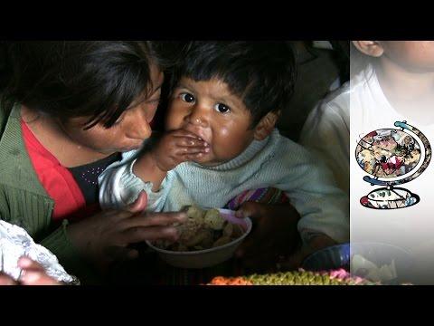 Half Of Children In Guatemala Are Malnourished (2009)