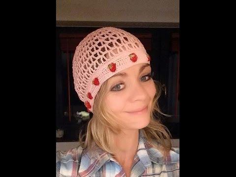 Sommer Mütze Sylvia Häkeln Crochet Von Oben Nach Unten Gehäkelt