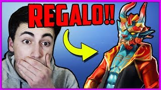 IF THE BATTO Give me A SKIN ON FORTNITE!! IMPOSSIBILE Challenge