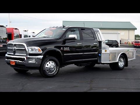 2017 Ram 3500 Laramie CUMMINS - Hillsboro Aluminum Truck Bed For Sale Dayton Piqua Ohio   27948T
