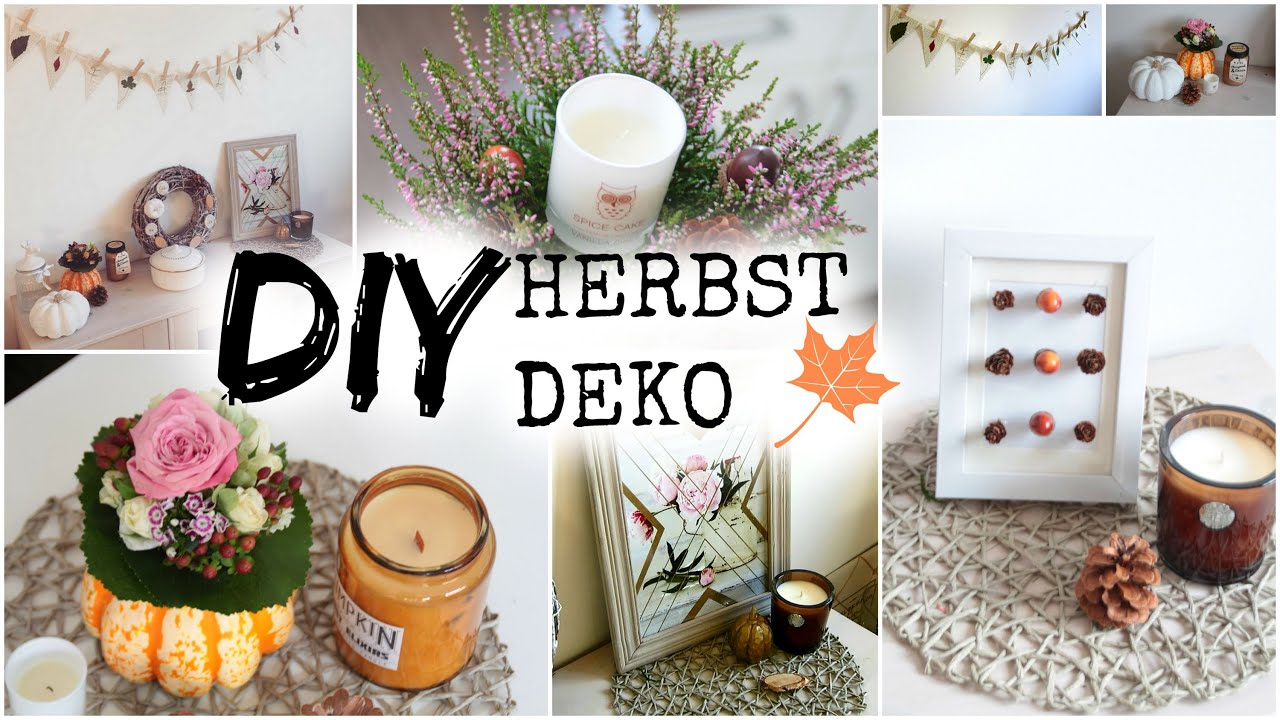 DIY HERBST DEKO IDEEN 2019 #helloautumn - YouTube