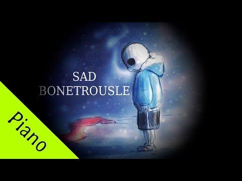 [Undertale] Bonetrousle | Sad Piano