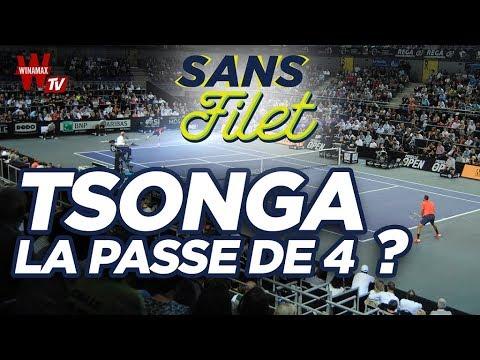 🎾 Tennis Sans Filet : Tsonga  la passe de 4 ?