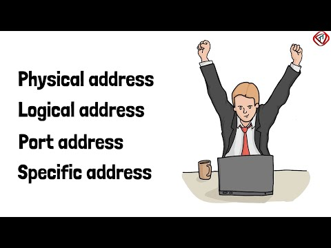 Physical address, Logical address, Port address, and Specific address in networking | TechTerms