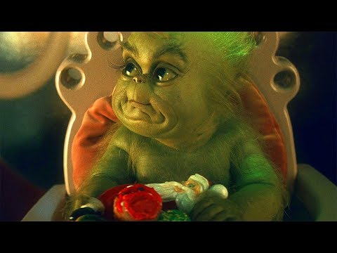 Baby Grinch Scene - How the Grinch Stole Christmas (2000) Movie Clip HD