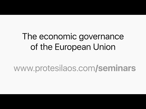 The economic governance of the European Union