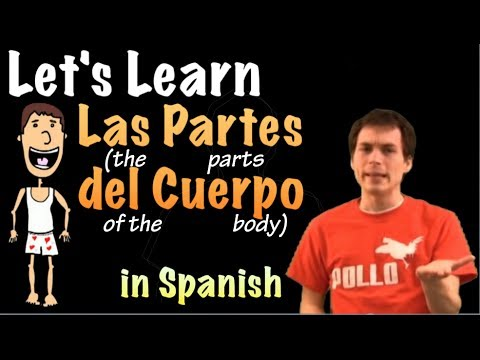 Learn Spanish! - Parts of the body