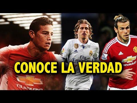 La verdad del fichaje de James Rodríguez al Manchester United | ¿Modric y Bale salen del Madrid ?