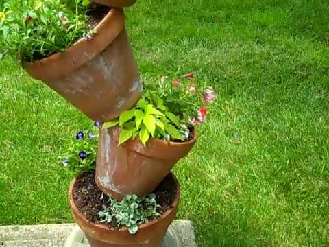 How To Plant A Tipsy Pot Plant Tower Youtube