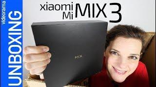 Xiaomi Mi MIX 3 unboxing y primeras impresiones -la selfiecam ESCONDIDA-