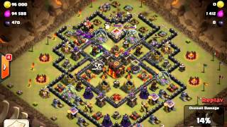[Clash of Clans] - Clan Wars - Attack replay video 13