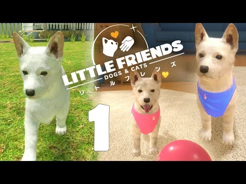 Little Friends: Dogs & Cats Part 1 - Meet Tikal ! - No Commentary (Switch)