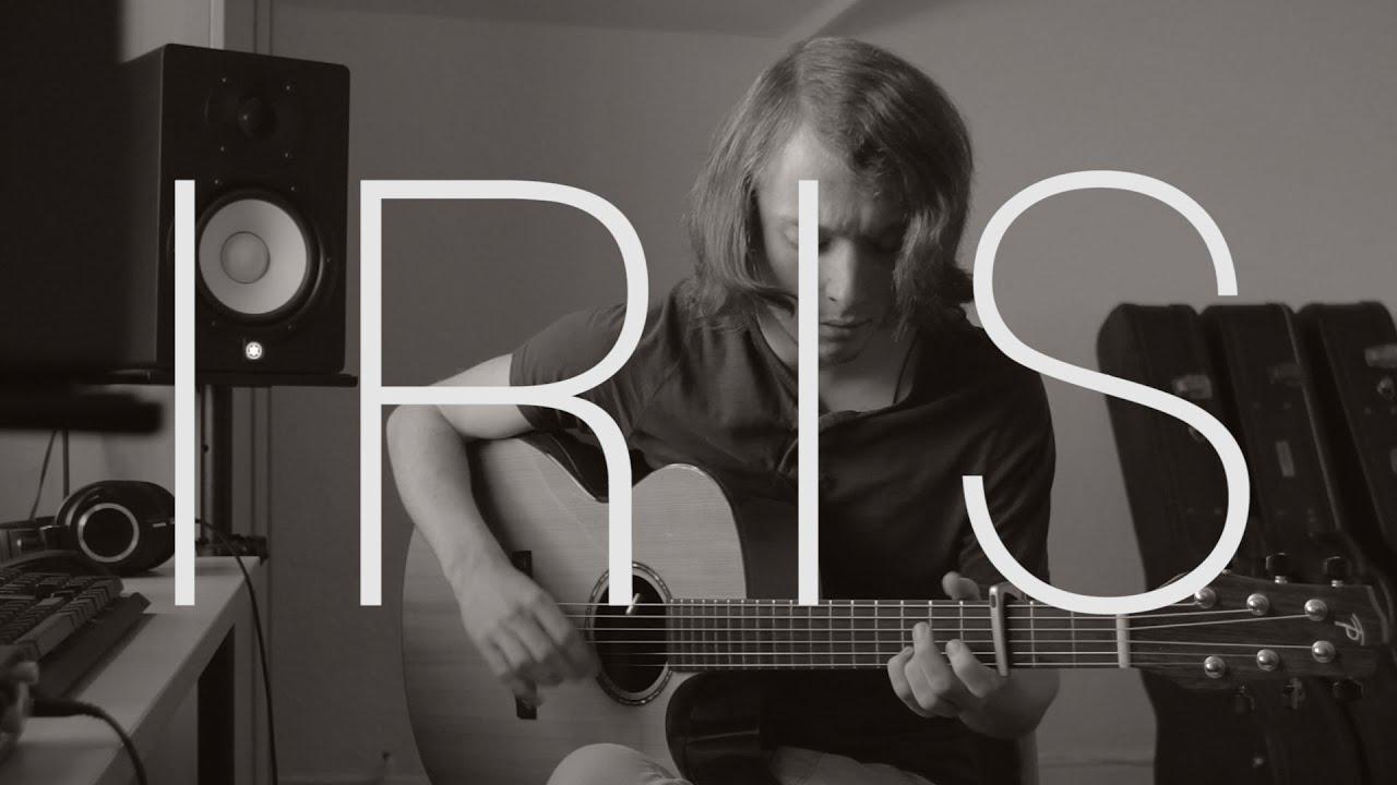 Goo Goo Dolls Iris Fingerstyle Guitar Cover By James Bartholomew