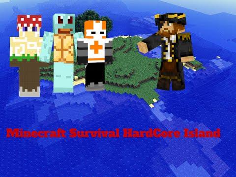 minecraft-ps3:-hardcore-survival-island-ep-1