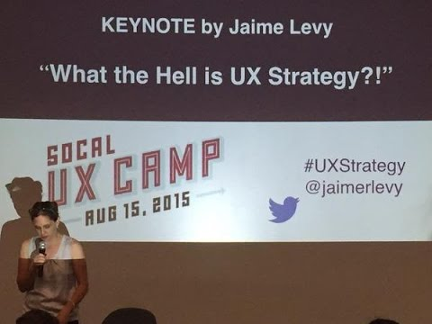SoCalUX Camp 2015 - Jaime Levy Keynote 2015 (720p)