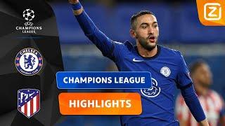 HAKIM ZIYECH DOET HET! ⚽️   Chelsea vs Atlético Madrid  Champions League 2020/21